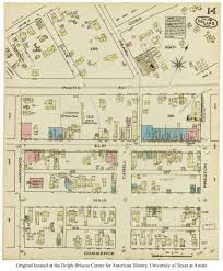 Downtown Dallas Map by