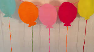 Decorative Garlands Home by How To Make A Balloon Garland For Birthday Parties Diy Home