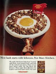1967 food ad hormel u0027s mary kitchen corned beef hash flickr