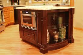 Antique Kitchen Island by Home Accessories Antique Kitchen Island With Microwave Drawer And