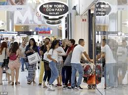 Thursday Thanksgiving Sales Thanksgiving And Black Friday 2016 Sales Up 9 Per Cent As Shoppers