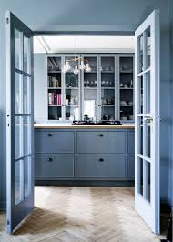 Serenity Blue Paint Furniture How To Decorate Bookcases French Blue Paint Kitchen And
