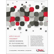 Apple Valley Creamery Case Study Ryder
