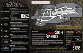 halloween horror nights behind the thrills halloween horror nights 22 map is released