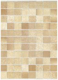 interior place tile stone tan mosaic contact paper 12 99 new