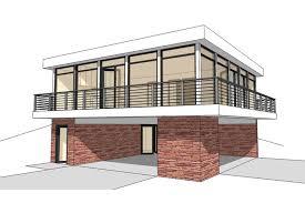 modern plan 930 square feet 2 bedrooms 1 bathroom 028 00098