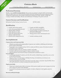 Resumes For Jobs Examples by Certified Nursing Assistant Resume Sample Self Improvement
