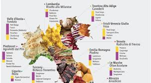 Map Of Italy Regions by Best Food In Italy 20 Iconic Regional Foods Of Italy