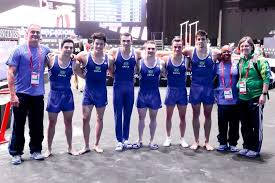 Eles fizeram história! Equipe masculina de ginástica artística ...