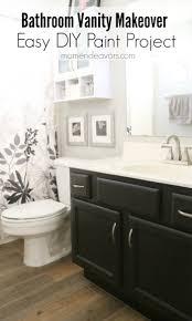 Painting Bathroom by Bathroom Vanity Makeover U2013 Easy Diy Home Paint Project