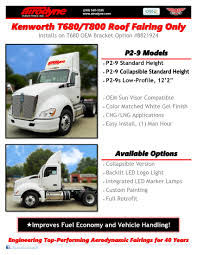 kenworth models list kenworth by airodyne industries inc