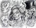 chicano art roses