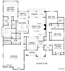2800 Square Foot House Plans 200 Best House Plans Images On Pinterest Dream House Plans