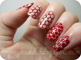 dark red nail designs images nail art designs
