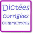 Orthographe et grammaire française grâce aux Dictées en ligne ...