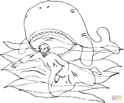 jonah and the vine coloring page free printable coloring pages