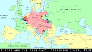 Map Of 1914 Europe by Wwi Centennial The Birth Of Trench Warfare Mental Floss