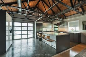 industrial country kitchen designs
