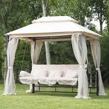 Small Gazebos For Patios by Exterior Awesome Patio Swing With Canopy Designs Ideas Custom