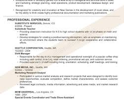 Cover Letter For Substitute Teacher 100 Sample Resume Teachers Without Experience 100 Resume