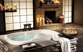 interior design style design home villa bathroom wallpaper cheap