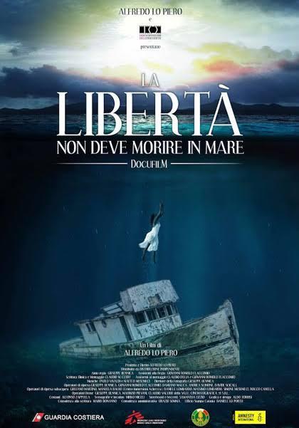 Risultati immagini per la libertà non deve morire in mare