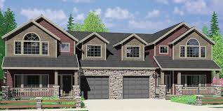Craftsman Home Plans With Pictures Multi Family Craftsman House Plans For Homes Built In Craftsman