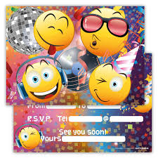 Birthday Invitation Cards For Kids Funny Birthday Invitations Pack Of 12 For Boys Girls Kids Cards