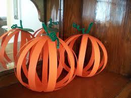 Halloween Tin Can Crafts 3d Pumpkins Need Orangle Construction Paper Green Construction