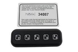 amazon com genuine ford 7l2z 14a626 ba keyless entry keypad