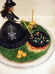 patticakes halloween witch cake