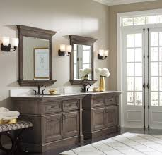 Black Distressed Bathroom Vanity by Bathroom Mirror Ideas To Reflect Your 2017 Including Double Vanity