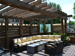 Outdoor Patio With Roof by Overwhelming Patio Furniture Ideas Presents Special Pergola Roof