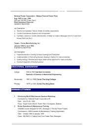 Examples Of Hvac Resumes by Mechanical Maintenance Engineer Sample Resume 22 Hvac Sample