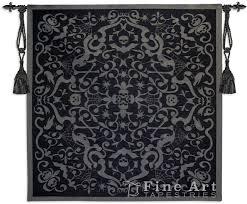 halloween wall art halloween scroll black ornamental tapestry wall hanging h53