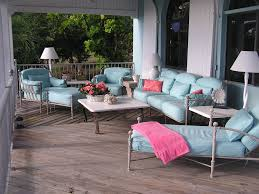 Living Room With Tv by Outdoor Living Room With Tv White Fabric Comfy Cushi Rattan Polish