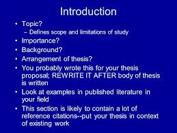 Tips for organizing and writing your thesis  and pretty much all
