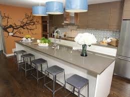 Modern Kitchen Designs With Island by Kitchen Island Breakfast Bar Pictures U0026 Ideas From Hgtv Hgtv