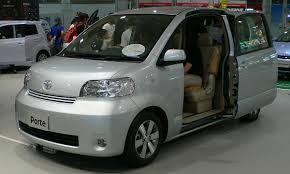 toyota motor car toyota porte wikipedia
