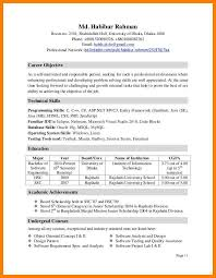 Best Resume Format For Quality Assurance by Activity Resume Template Zuffli