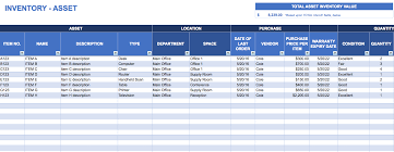 Software For Spreadsheets Free Excel Inventory Templates