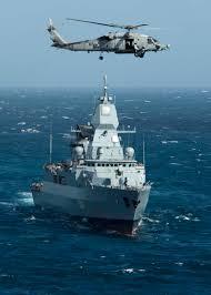 German frigate Hamburg