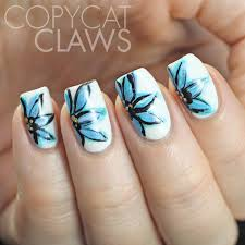 nail art freehand nail art flowers free hand of browning deerfree
