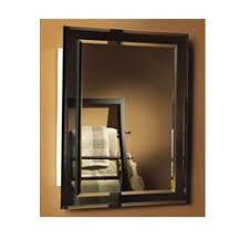 Mirrored Medicine Cabinet Doors by Amazon Com Jensen 1450bc Mirror On Mirror Frameless Single Door