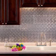 brushed aluminum pattern backsplashes countertops