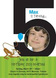 Birthday Invitation Cards Models 5th Birthday Invitation Wording Blueklip Com