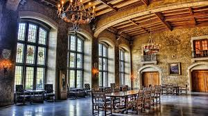 medieval grand castle dining room great dinning castel windows