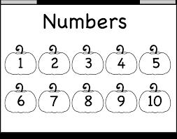 Halloween Quiz Printable by Number Chart U2013 1 10 U2013 Worksheet Free Printable Worksheets