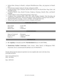 Human Resource Professional Resume Sample   Template