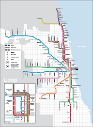 Public Transit Chicago Map by The Cta Train System Is An Old Transportation System In Chicago